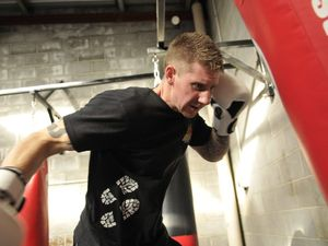 Boxing debutant set to take his own training advice