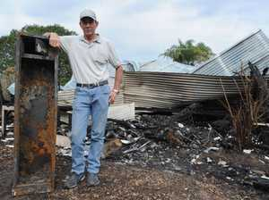 Victim of house fire intends to rebuild on Takura property