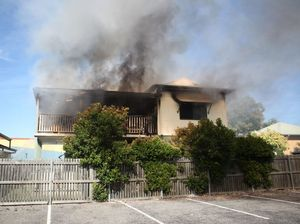 Firefighters trying to establish what caused CBD house fire
