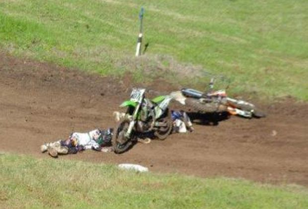 Tyson Litfin broke his back in a motocross accident in 2012 and is looking to raise funds to be able to travel to Germany for stem cell treatment. Photo: Contributed
