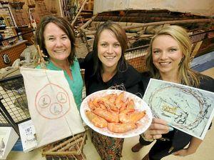 Ballina celebrates Las Balsas and all prawns, big and small