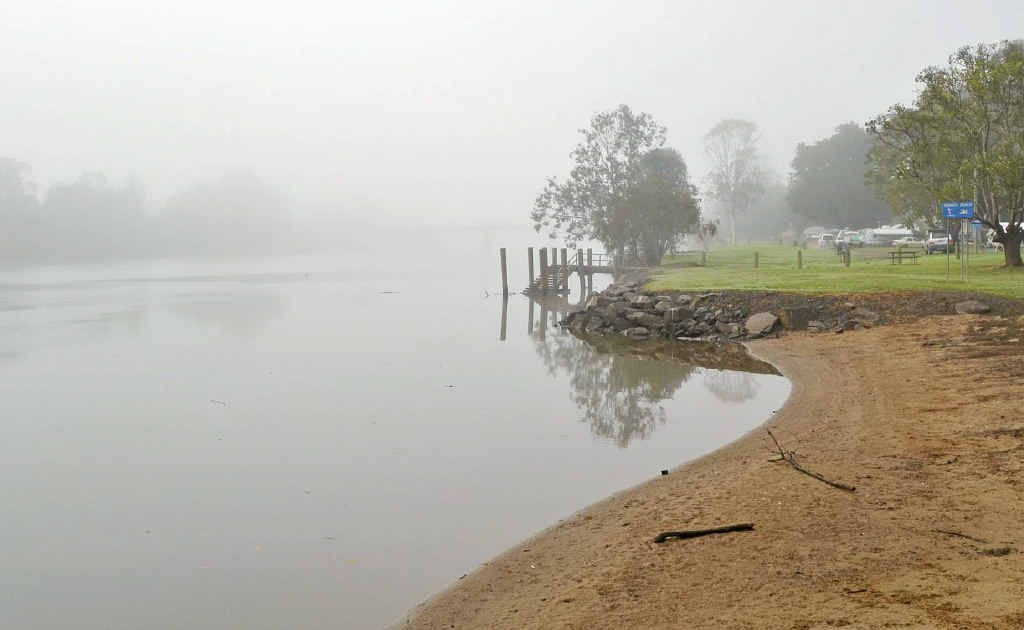 UPGRADING FORESHORE: The fog will be lifting from the Coraki riverfront as Richmond Valley has put aside $60,000 for its upgrade.