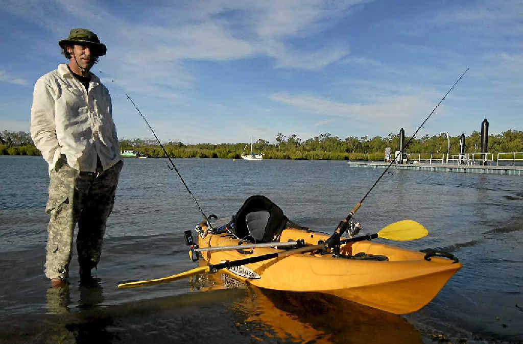Chris Jorgensen hasn't caught a barramundi in the Boyne River since netting season opened.