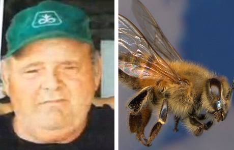 Larry Goodwin had been using a tractor to help a friend build a brush pile on Saturday afternoon when he disturbed a large Africanised honey bee hive concealed in a chicken coop.