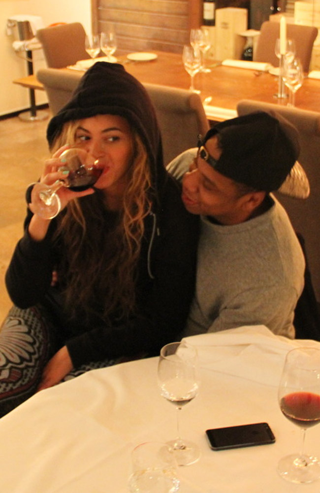 Beyonce posted a photo of her and her husband Jay-Z enjoying wine last week.