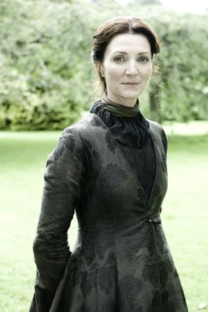 Michelle Fairley stars in the TV series Game of Thrones.