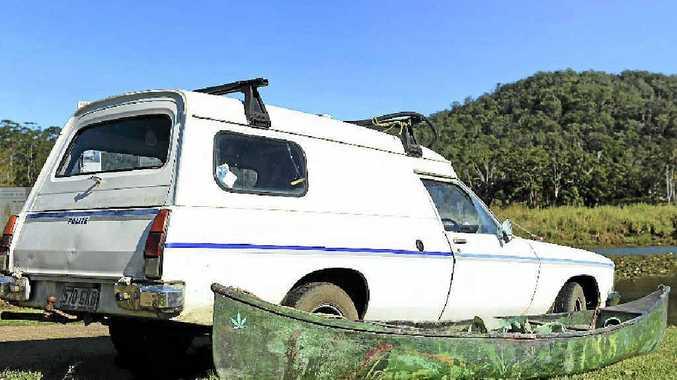 MISSING: The van and kayak of Nimbin man John Barrett, found at Clarrie Hall dam.