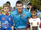 NRL stars pay visit to region