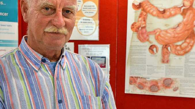 John Weinrich's life was saved by a bowel screening test that came in the mail.