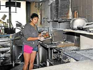 Blaze destroys fish and chip shop