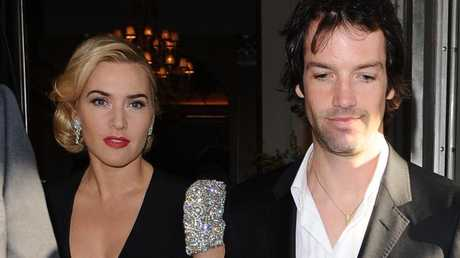 Kate Winslet with husband Ned Rocknroll
