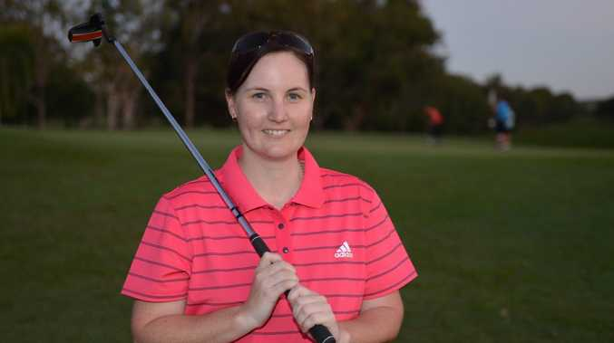 Sheree Hasson took out the Women's golf at the Mackay Golf Championships over the weekend. Photo Lee Constable / Daily Mercury