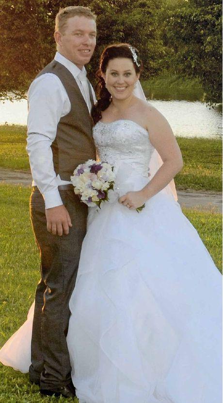 Damien and Brooke Ramsay have returned from their honeymoon in Las Vegas.