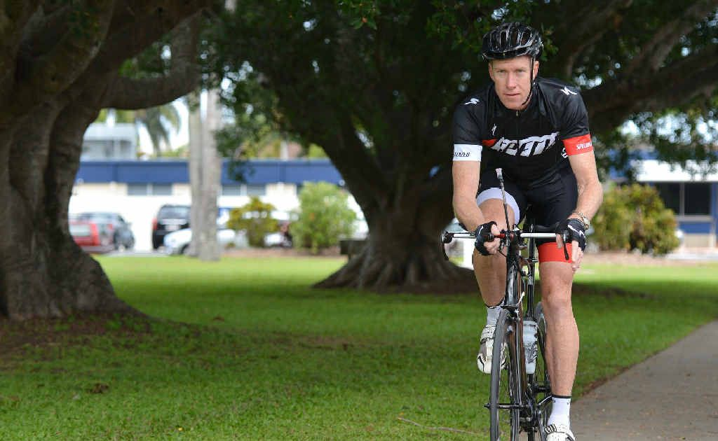 Matt Stevens is heading to Cairns to take part in an ironman event.