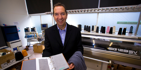 Brent Ogilvie says the firm plans to license its technology to other companies.