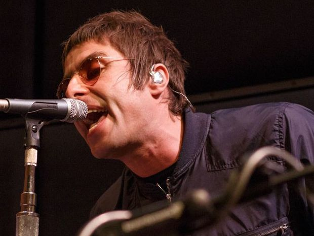 Liam Gallagher of Oasis
