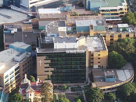 The Wesley Hospital.