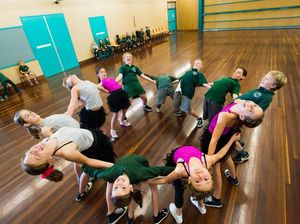Students catch dance fever ahead of festival