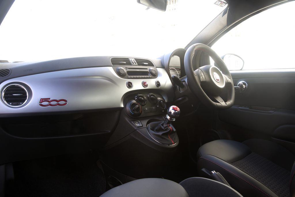 Inside the new Fiat 500.