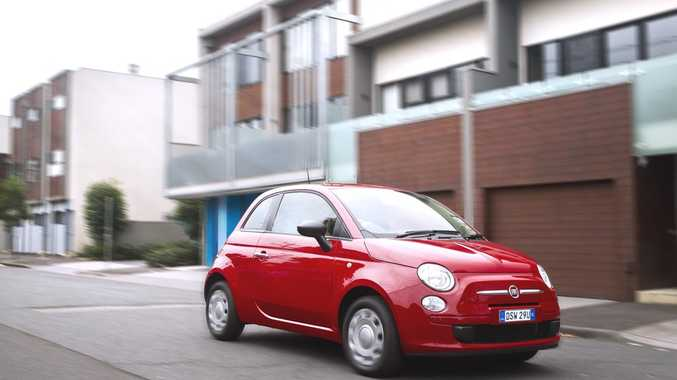 The new Fiat 500 starts from $14,000 drive-away.