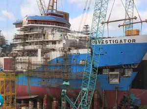 CSIRO reveals 93-metre research ship