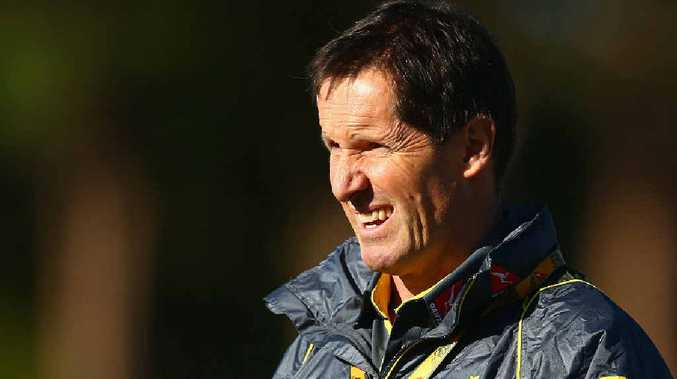 JOB ON THE LINE: John Connolly believes Wallabies coach Robbie Deans could face the axe if Australia don't perform well against the British and Irish Lions.