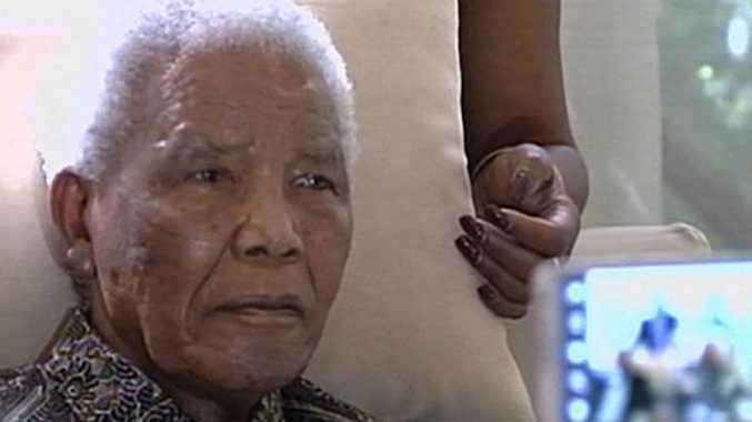 Nelson Mandela's condition has been upgraded to critical.