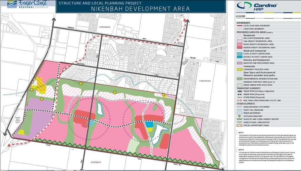 Nikenbah draft local plan.