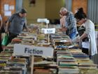 GREAT SELECTION: Breanna Seymour finds a few good books at the Bundaberg Regional Libraries' annual Book Sale held at the Bundaberg Civic Centre.