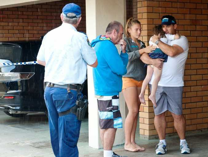 A two-year-old girl abducted in a stolen vehicle is reunited with a family friend after police found her on Ocean Pde.