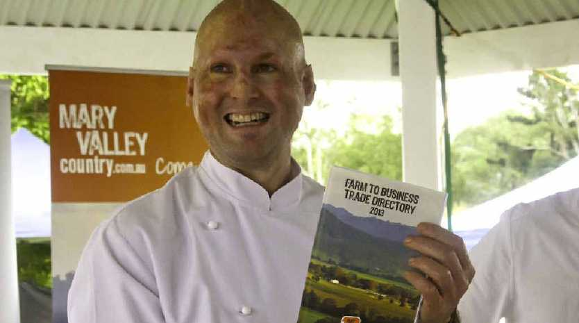 Matt Golinski launches the Farm to Business Trade Directory 2013.