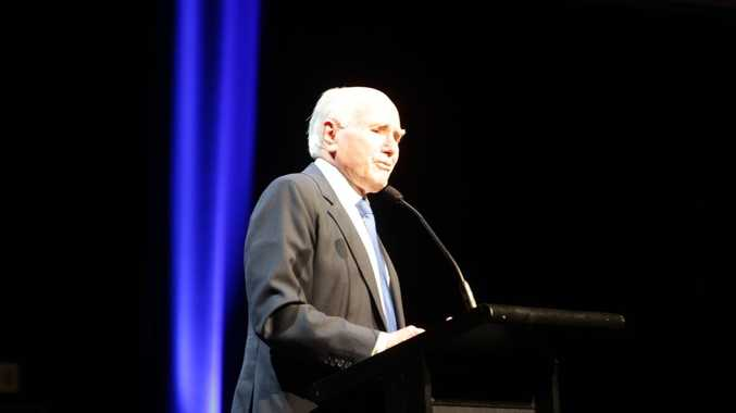 Former Liberal Party prime minister John Howard.