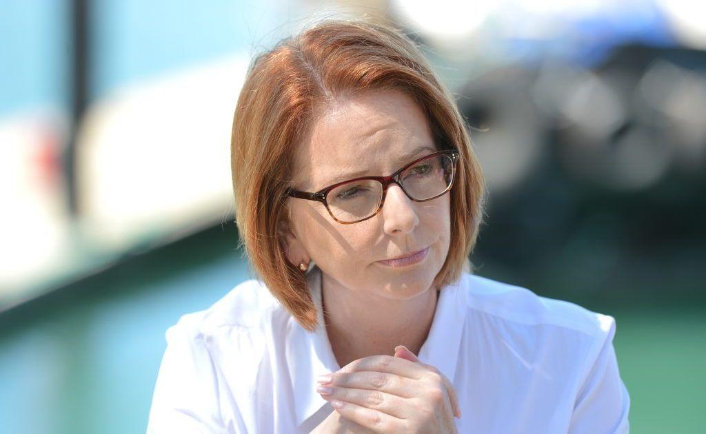 Prime Minister Julia Gillard in Mackay.