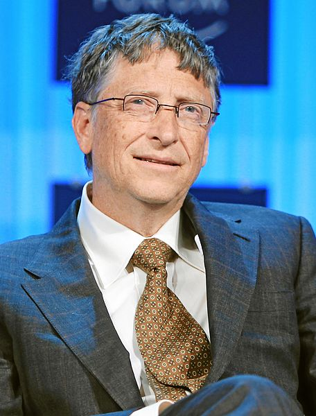 Bill Gates has grown his fortune by $6 billion in the past year and is now the world's richest person.