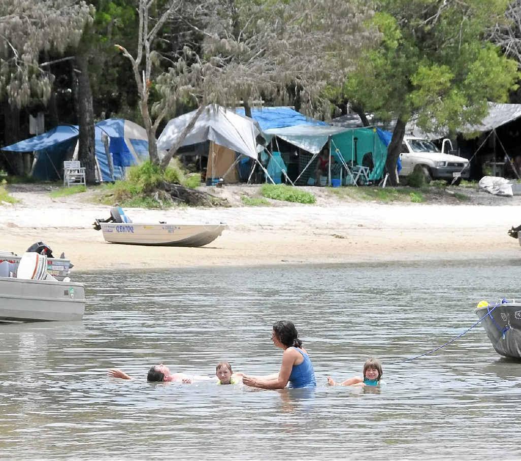 Inskip Point campsite
