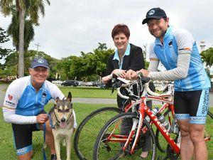 Best friend's death triggers 15,000km ride