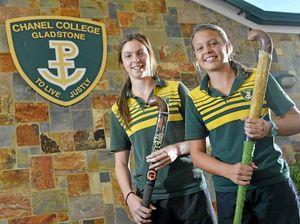 Three Chanel College girls make Qld team for school hockey