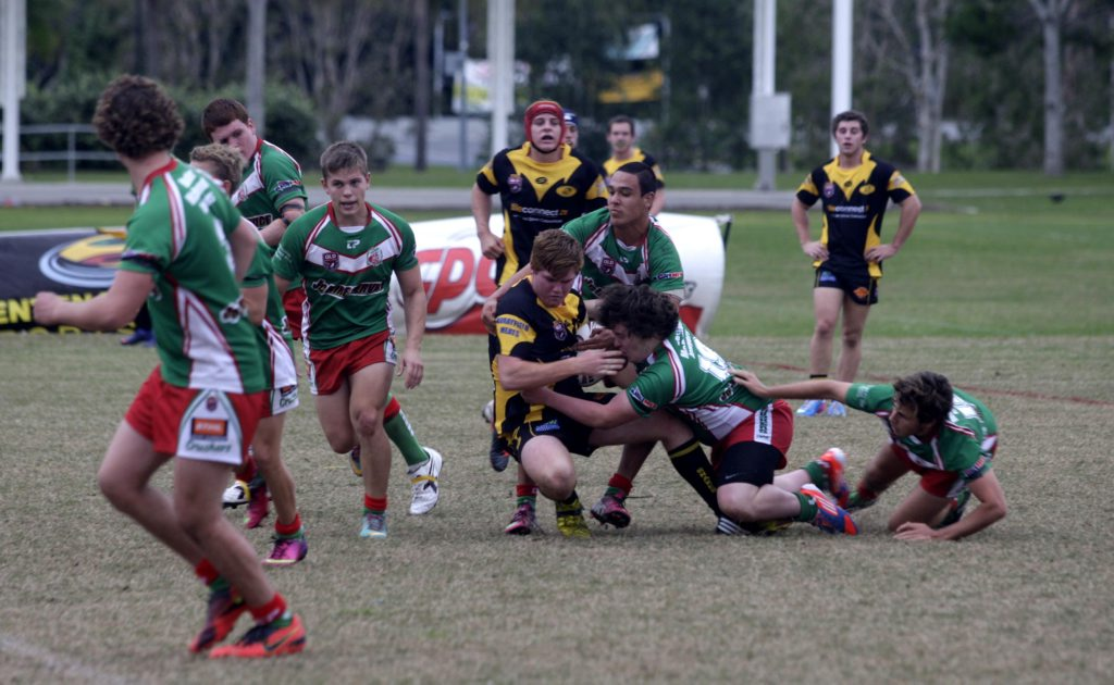 Image for sale: The Caboolture Snakes U18 side takes on Nambour. Photo Sheree Echlin / Caboolture News