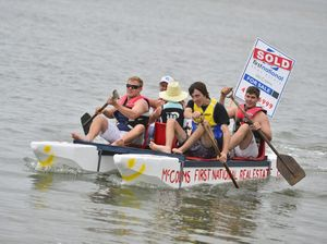 Raft race a celebration of Baffle Creek back on its feet