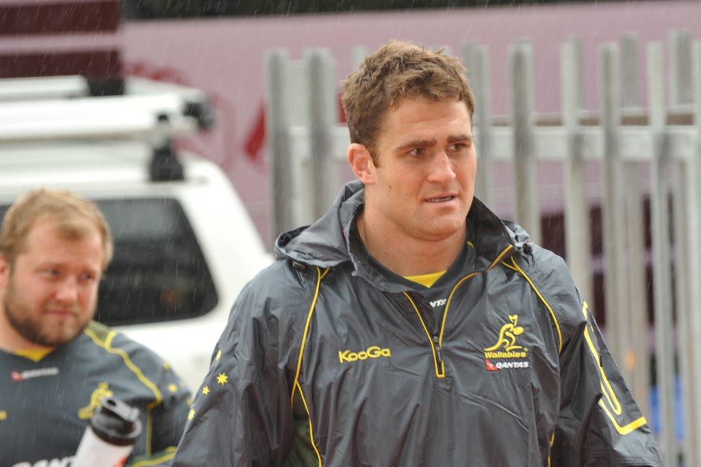 Outgoing Queensland Reds captain James Horwill