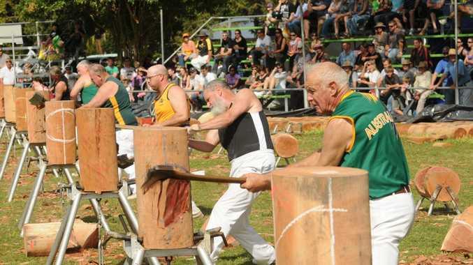 The 2014 Woodchop Carnival kicks off at Brunswick Heads tomorrow.