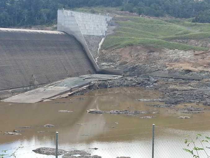 Paradise Dam before the repair work began. Photo Contributed
