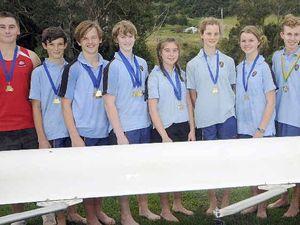 Oar-some Trinity rowers defy odds to star in regatta comp