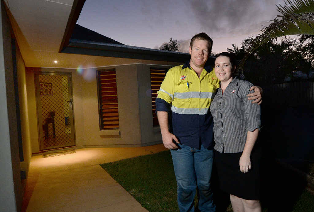 Ebony Hughes and Daniel Beveridge are building their dream home.