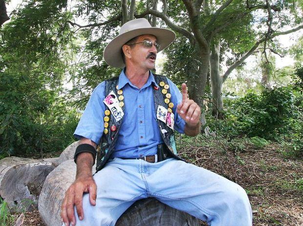 Australian Bush Poet Bob Pacey. CHRIS ISON CI05-0310-4
