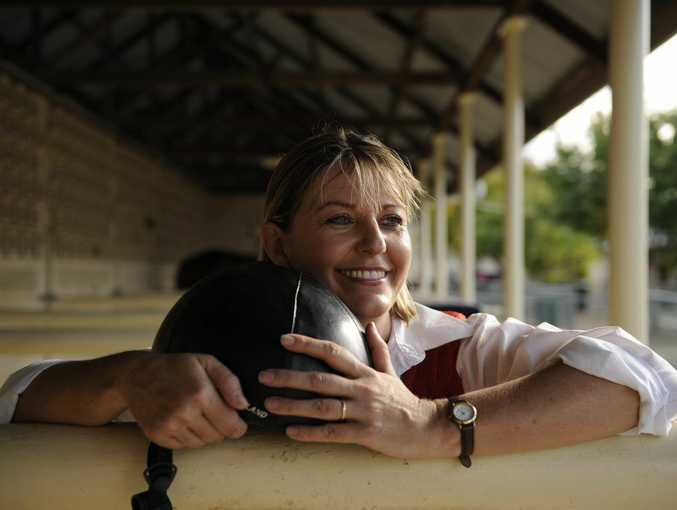 Clerk of the course Sharon Howes is retiring after 25 years at the Ipswich Turf Club. Photo: Claudia Baxter / The Queensland Times
