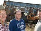 ( from left ) Ron Kuhrt Senior, Jon Kuhrt and Ron Kuhrt Junior. Photo Nev Madsen / The Chronicle