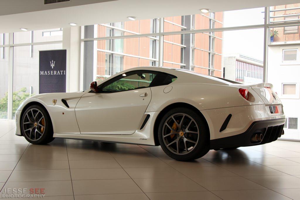 The Ferrari 599 GTO.