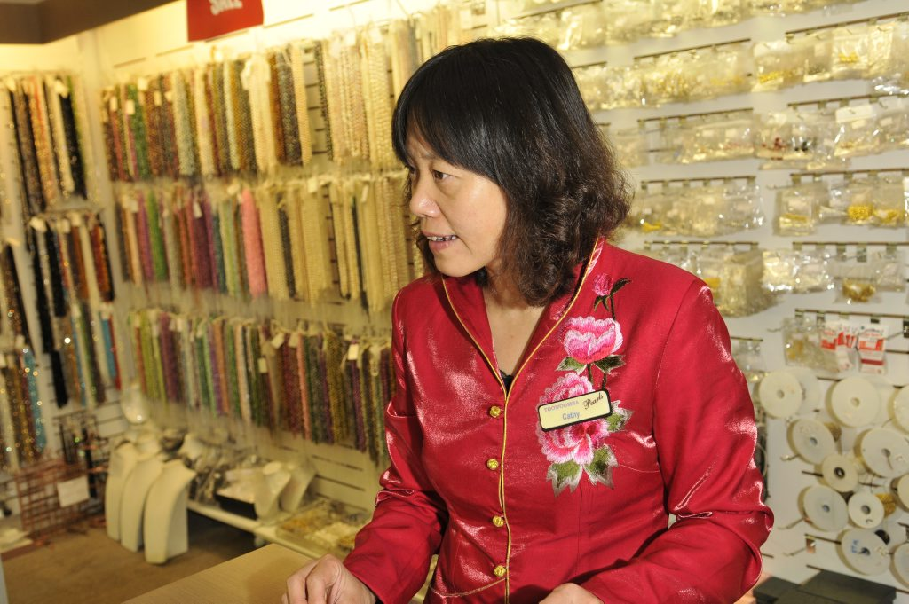 Jewellery dealer Cathy Liu has fallen victim to an online scam.