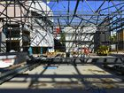 Construction of the Gladstone Entertainment Centre redevelopment is currently about 65% complete.